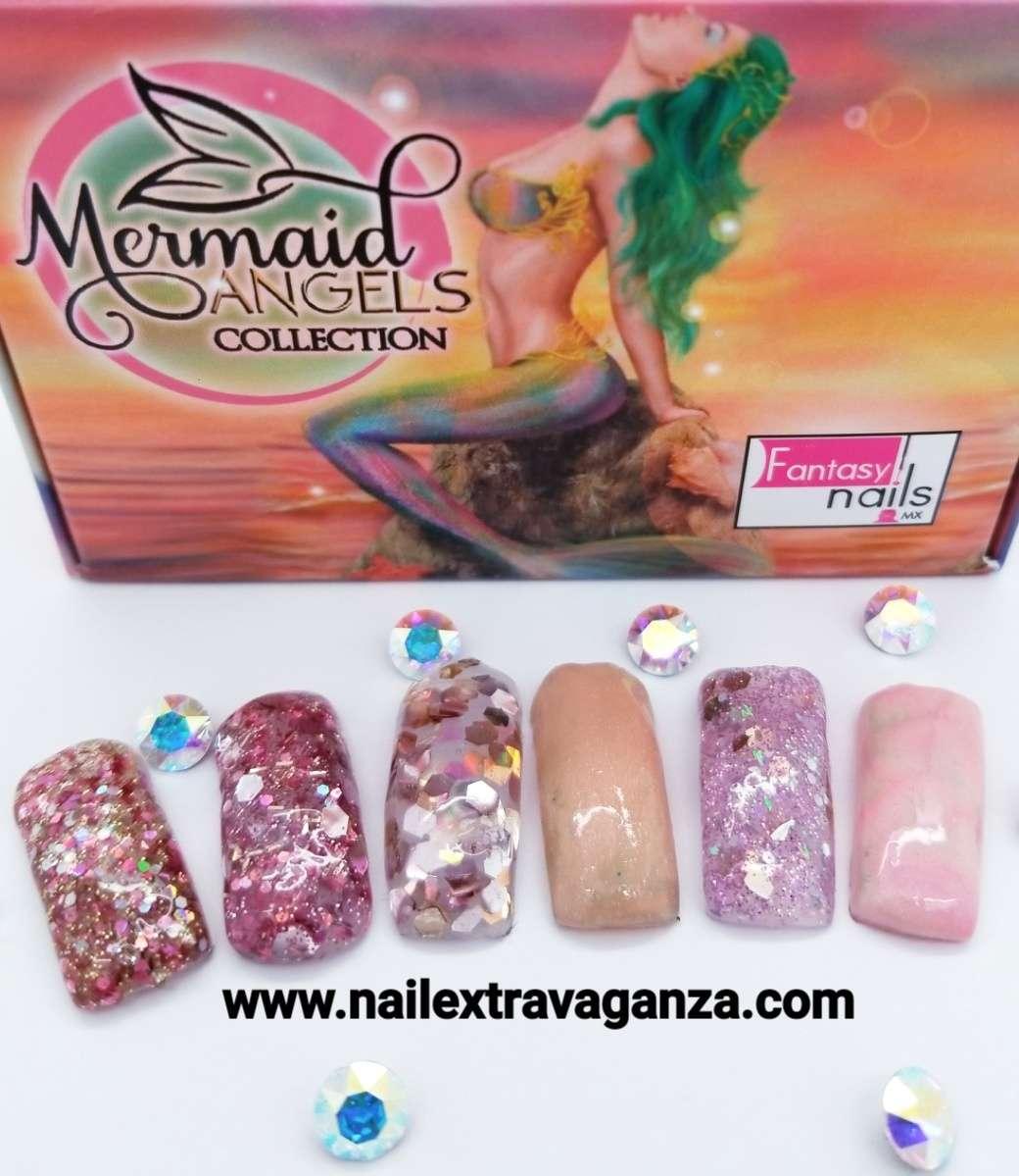 A00 Fantasy Mermaid Angel Acrylic powder collection - Nail Extravanganza