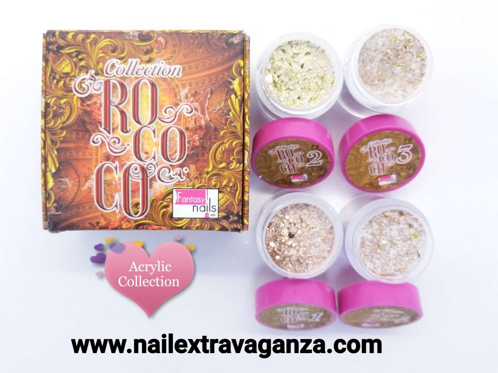 A00 Fantasy Rococo Gold acrylic collection