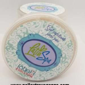 Latin Nails X Gel Exfoliante para Pies 4oz