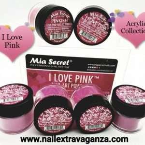 (1) Mia Secret I love Pink collection 6 jars