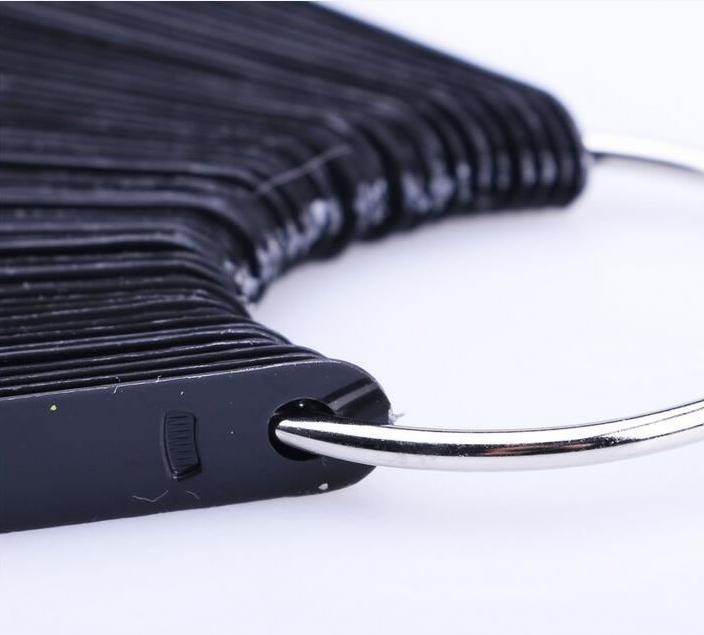 Fan Wheel Nail Display Sticks (Black Color)