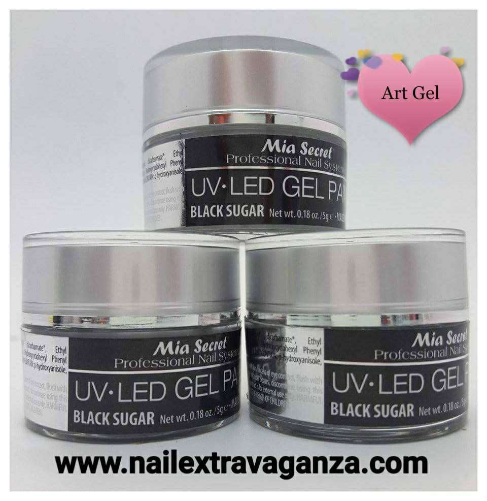 . Painting Gel 5grms Color Black Sugar