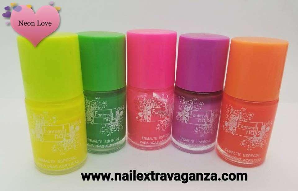 ## Fantasy Neones Esmalte Base (Choose your color)