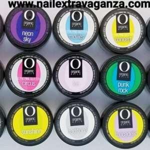 Organic Nails Ultra Fine Glitters (7grms jars)