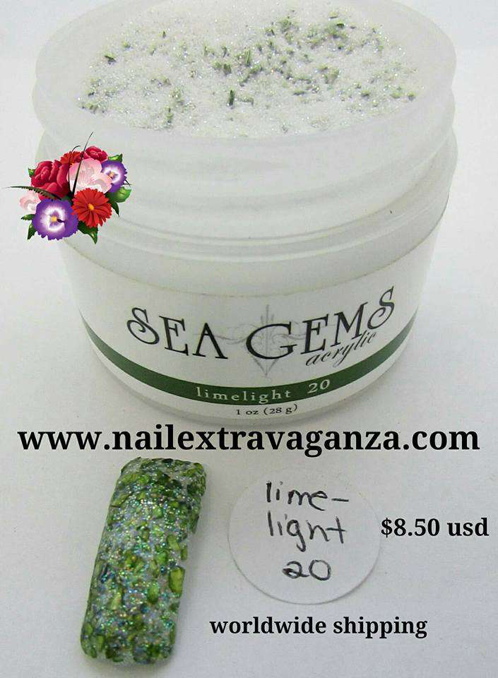 Sea Gem LimeLight Acrylic 1oz