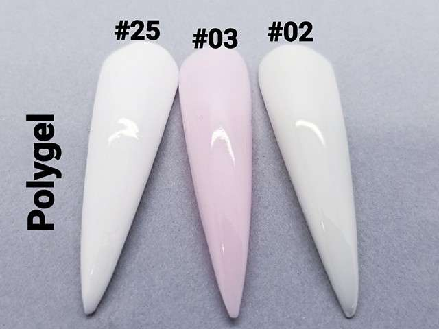 Poly Gel #25 White Color