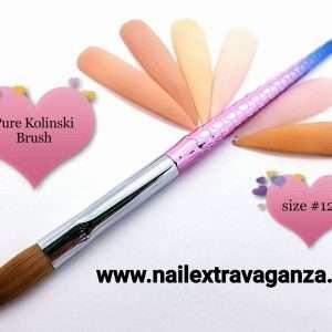 * Mermaid Kolinski Brush #12