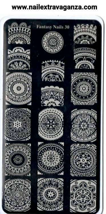Fantasy Nails Stamping Plate (Choose from #26 to #31)