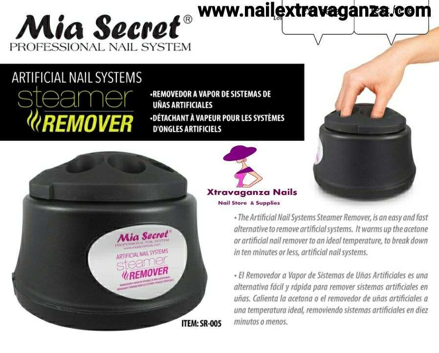 Mia Secret Nails Steamer Nail Remover System Machine