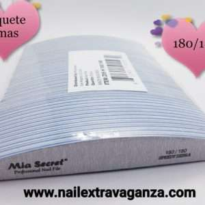 Mia Sanding Files Half Moon (50pzs) 180/180