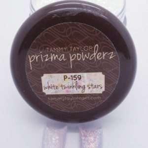 Tammy Taylor Prizma Acrylic 1.5 oz Jar White Twinkling Stars