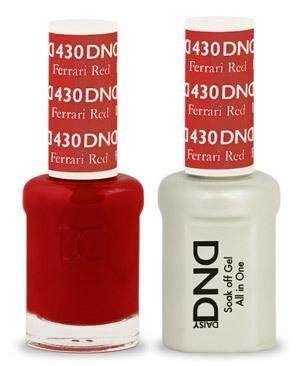 DND - Gel & Lacquer - Ferrari Red - #430