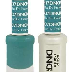 DND - Gel & Lacquer - Blue De France - #437