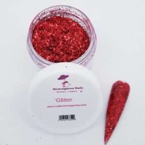 Glitter Dark Red 1oz