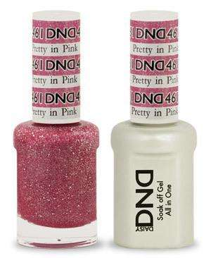 DND - Gel & Lacquer - Pretty in Pink - #461