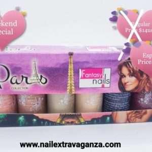 . Fantasy Nail Polish set Paris 6colors 15ml each