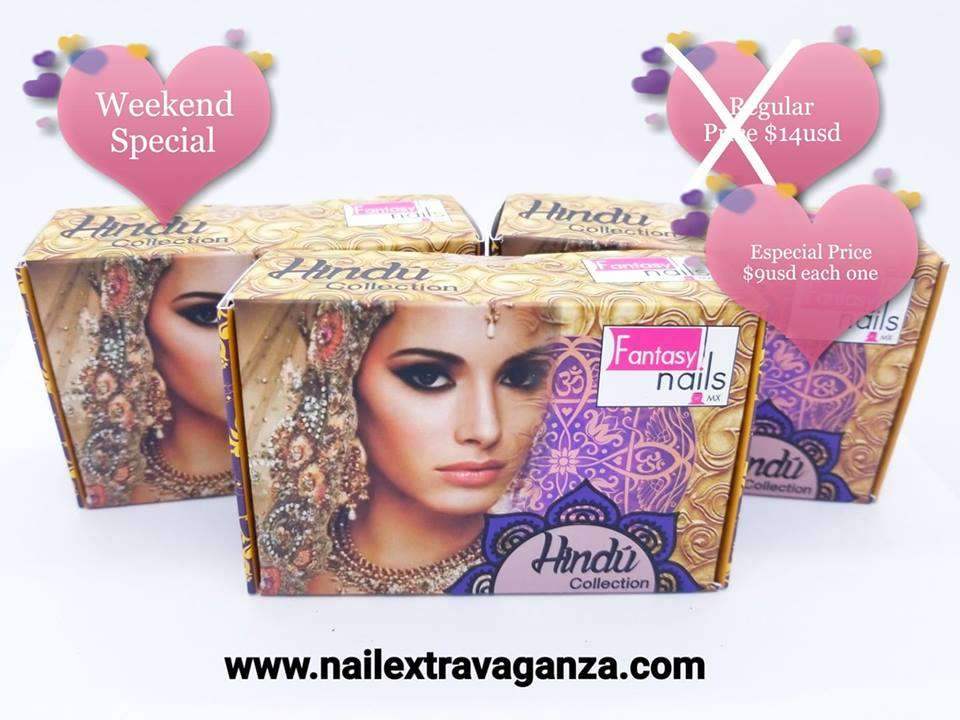 . Fantasy acrylic collection Hindu 6grms 7jars