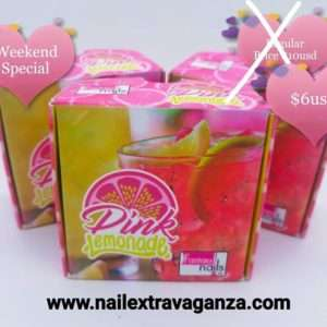 . Fantasy Pink Lemonade acrylic collection