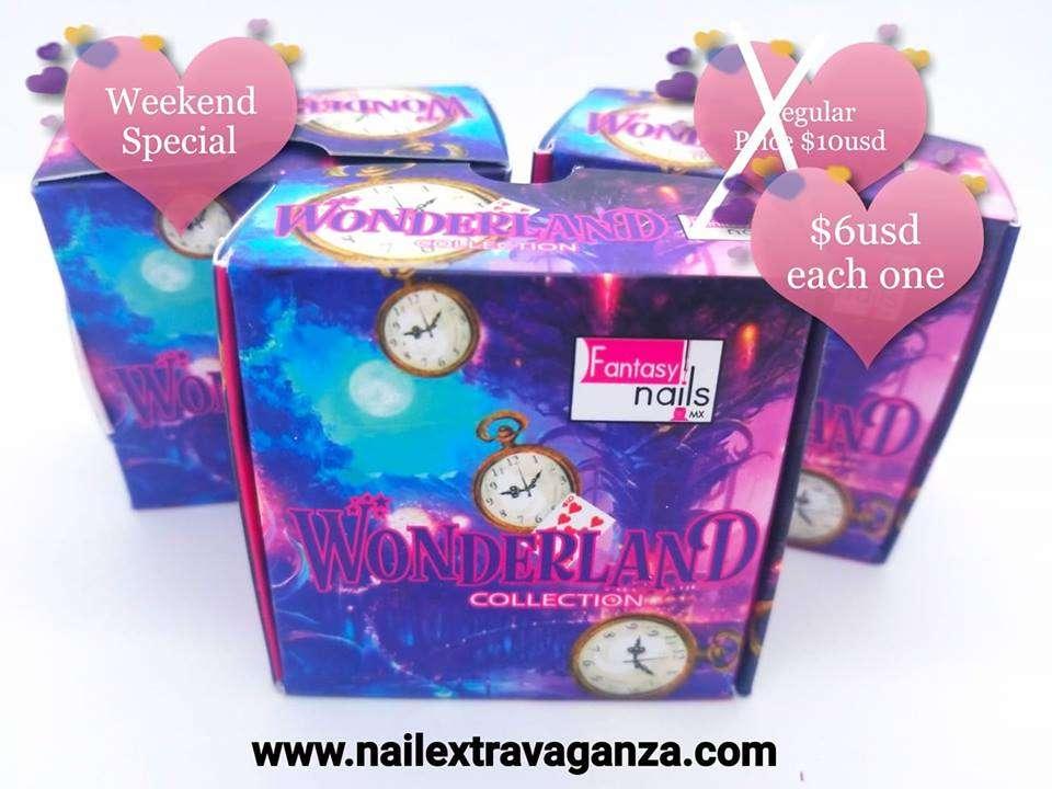 . Fantasy Acrylic collection Wonderlan