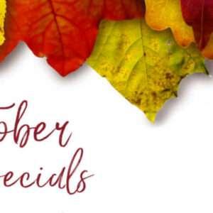 , October Specials