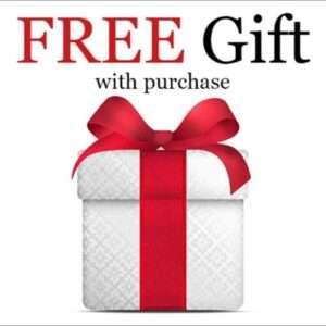 , Buy more than $100 FREE Gift